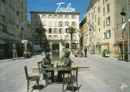 83 - TOULON - Place Raimu, La Partie De Cartes - Toulon