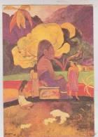 CPM PAUL GAUGUIN, HINA MARURU - Paintings