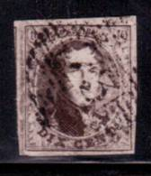 N°6, 10c Brun Pl IV A Très Bien Margé P73 Liège - 1851-1857 Medaillons (6/8)