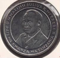 TANZANIE 10 SHILINGI 1993 PRESIDENT J.K NYERERE - Tanzanie