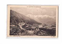 73 LANSLEBOURG (environs) La Turra, Vue Générale, Ed Girod 485, Savoie Pittoresque, 1934 - France