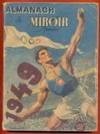 Almanach De Miroir Sprint De 1949 - Deportes