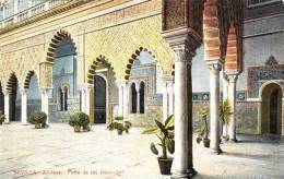 SEVILLE - SEVILLA - Alcazar - Patio De Las Doncellas - Ed. C.R.S. N°  55 A   -   (3179) - Sevilla