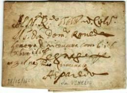 #12113 - Da Venezia, Diretta A Legnago, Del 28/12/1668..# - Italia