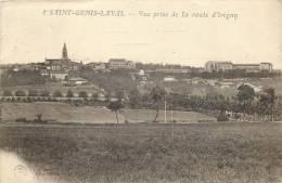69 SAINT GENIS LAVAL - Vue Prise De La Route D'Irigny - Autres Communes
