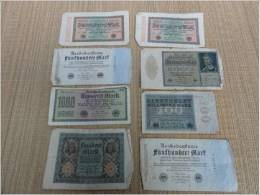 Reichsbanknote Billet Banque Allemand Reich - Allemagne