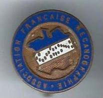 Insigne Avec épingle/Association Française Mécanographie/Vers 1950     D247 - Cyclisme