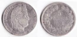 A SAISIR---5 FRANCS LOUIS PHILIPPE I 1832 MA - France