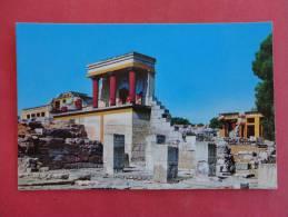 Greece   Crete The Minoan Palace Of Knossos== Ref 862 - Greece