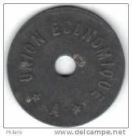 BELGIQUE, JETON UNION ECONOMIQUE, BON POUR 1 PAIN. ( AP22 ) - Monedas / De Necesidad