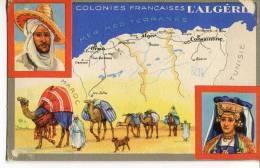 COLONIES FRANCAISES  -  L' ALGÉRIE - Argelia