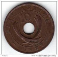EAST AFRICA KM 19 10 Cts 1927. ( AP16 ) - Colonie Britannique