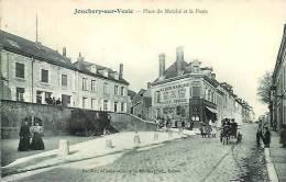 51 JONCHERY-sur-VESLE Place Du Marché Et La Poste - France
