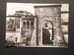 (E287)  Monte S.Savino  (Arezzo)  -  Formato Grande - Arezzo