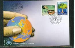 Jugoslawien / Yugoslavia / Yougoslavie 2000 Naturschutz / Nature Protection FDC - Umweltschutz Und Klima