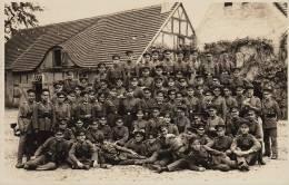 Photo Carte Postale Polizei Militar Schule Brandenburg Police Militaire 1930 Harz Uberfall Kommando Commando - Guerre, Militaire