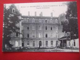71 - PARAY LE MONIAL - MAISON LA COLOMBIERE - FAÇADE INTERIEURE - - France
