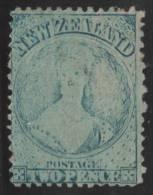 NUEVA ZELANDA 1864/66 - Yvert #31 - MLH * - 1855-1907 Crown Colony