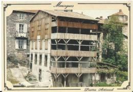J  : Puy De  Dôme :  MARINGUES : Les Tanneries  Sur  Pilotis - France