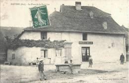 FLEVIEU PLACE DE LA FONTAINE ANIMEE HOTEL MILLE 01 AIN - France