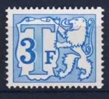 BELGIUM 1966 OBP TX 68A MNH POSTFRISCH ** NEUF - Postzegels