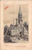 CP Maggi Pub Publicité Nos Eglises Notre Dame De Comfort Entre Quimper Et Audierne 29 Finistère - Pubblicitari