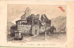 CP Maggi Pub Publicité Nos Eglises Luz 65 Hautes Pyrénées - Pubblicitari