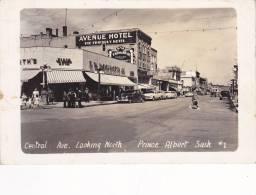 RP: Central Avenue , PRINCE ALBERT , Saskatchewan , Canada , PU-1952 - Ohne Zuordnung