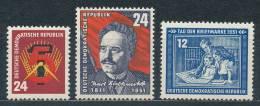 DDR 293 - 295 ** Mi. 18,- - [6] República Democrática