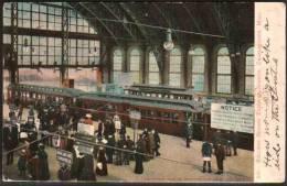 Chestertown, Mass - Sullivan Square Elevated Station - Train - Etats-Unis