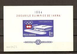 *ROMANIA* - Foglietto NUOVO (MINT) - Blocks & Sheetlets