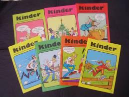 Kinder Monatszeitschrift N° 2-3-4-5-6-7-8 : Deutsch In Comics Collectif  Annee 1986 - Livres Scolaires