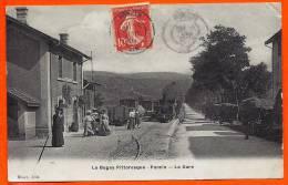 PONCIN - Le Bugey Pittoresque - La Gare  - L65 - Autres Communes