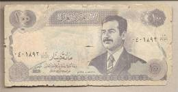 Iraq - Banconota Circolata Da 100 Dinari - Iraq