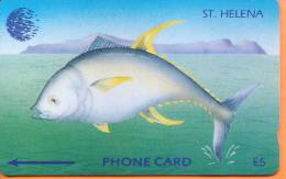 St Helena Isl. - Tuna Fish (new Logo), CN : 4CSHA, 962ex, 1993, Mint As Scan - St. Helena Island