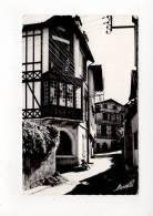64 CIBOURE > Jolies Maisons Basques De La Rue Du Docteur Nicé > éd. Lavielle N° P1011 / Voyagé En 1961 / Qualité Photo - Francia