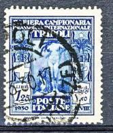 Libia 1930 - 4° Fiera Di Tripoli Serie 18, N. 89 Usato Cat. € 30 - Libya