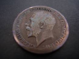 Great Britain 1912 GEORGE V  FARTHING  USED  CONDITION As Seen.. - 1902-1971 : Post-Victorian Coins