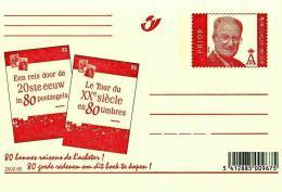 Carte Postale 2002 : Le Tour Du XXe Siècle En 80 Timbres / Een Reis Door De 20ste Eeuw In 80 Postzegels (état Neuf) - Entiers Postaux