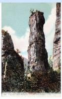 """Annecy (Haute-Savoie) Aux Environs, Vallée Des Bauges, La """"tour Saint-Jacques""""   (LES 2 CARTES) - Annecy"""