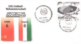 Mexico - Spezialbeleg / Special Document (m353) - World Cup
