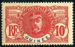 Guinée (1906) N 37 * (charniere)