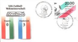 Mexico - Spezialbeleg / Special Document (m356) - World Cup