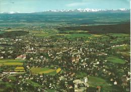 Solothurn Und Die Alpen, Flugaufnahme P. Zaugg Solothurn - SO Soleure