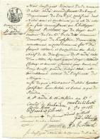 604/20 - Document Fiscal ST ANDRE Lez BRUGES An 13 - Superbe Cachet De La Marie - 1794-1814 (French Period)