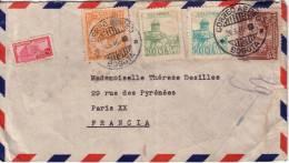 COLOMBIE-BOGOTA LE 26-3-1946-LETTRE POUR LA FRANCE. - Colombia