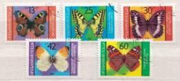 Bulgaria CTO Set - Vlinders
