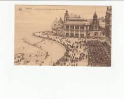 BELGIQUE BELGIUM - [OF #12252] - OSTENDE - LA KURSAAL ET LES TERRASSES DES GRANDS HOTELS - Oostende