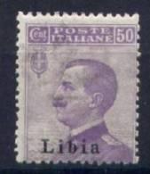 Libia 1912 Sass.9/I Sopr. II Tipo **/MNH VF/F - Libya