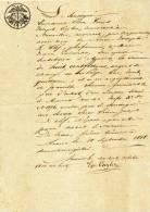 608/20 - JUDAICA BELGIQUE - 5 Documents Judiciaires S/ Papier Fiscal 1818- Simon Joseph Le Clef , Rue Des Juifs à ANVERS - Jewish